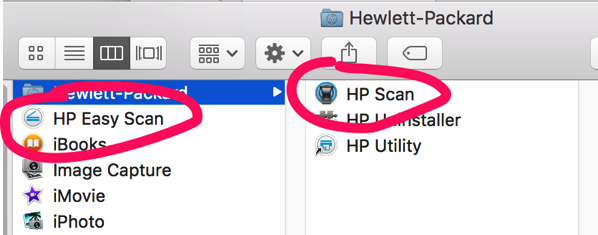Совсем не Easy scan HP
